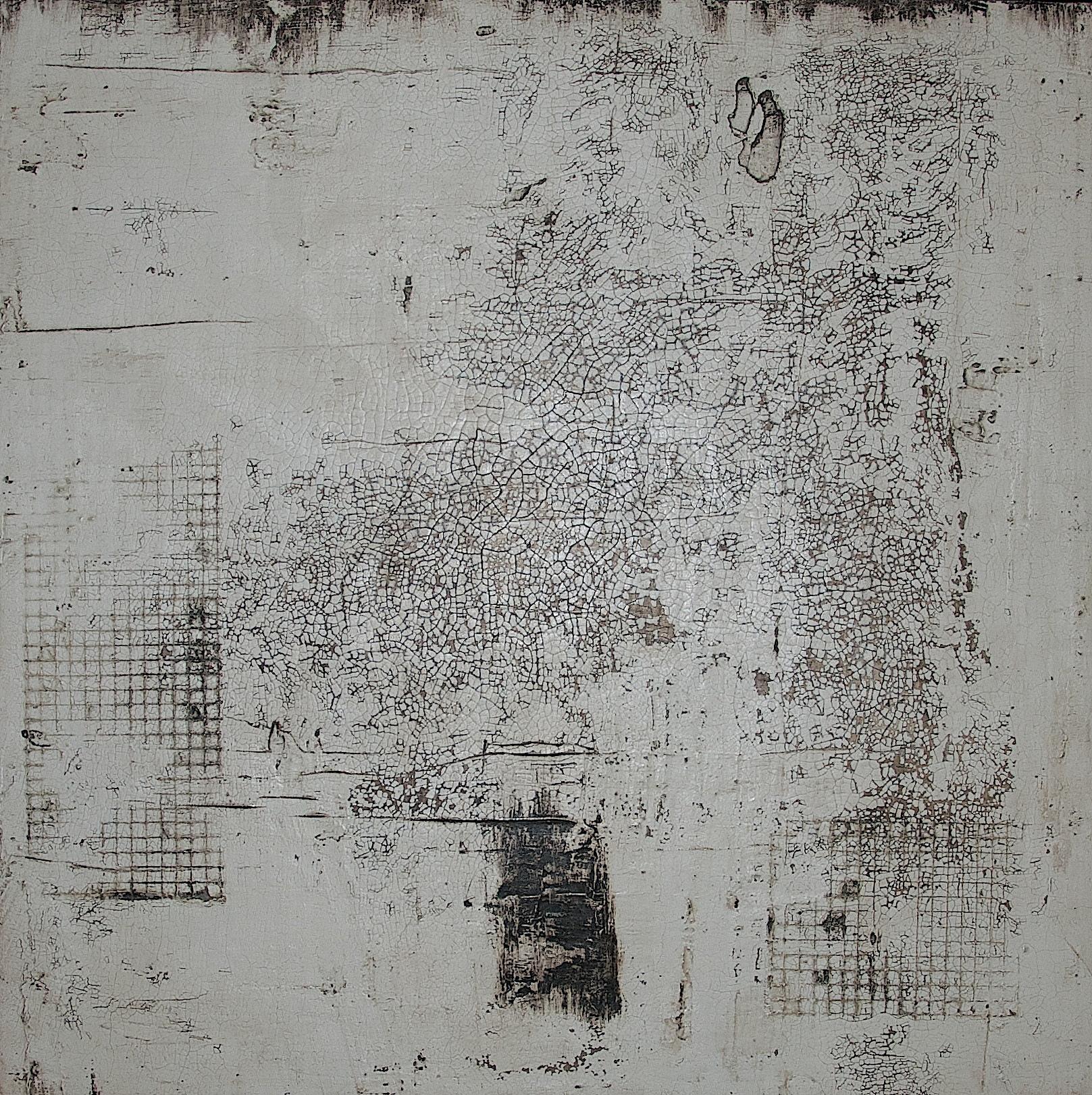 Fresko/Intonaco_Sumpfkalk_Pigmente_Wachs_Bauplatte_60 x 60 cm
