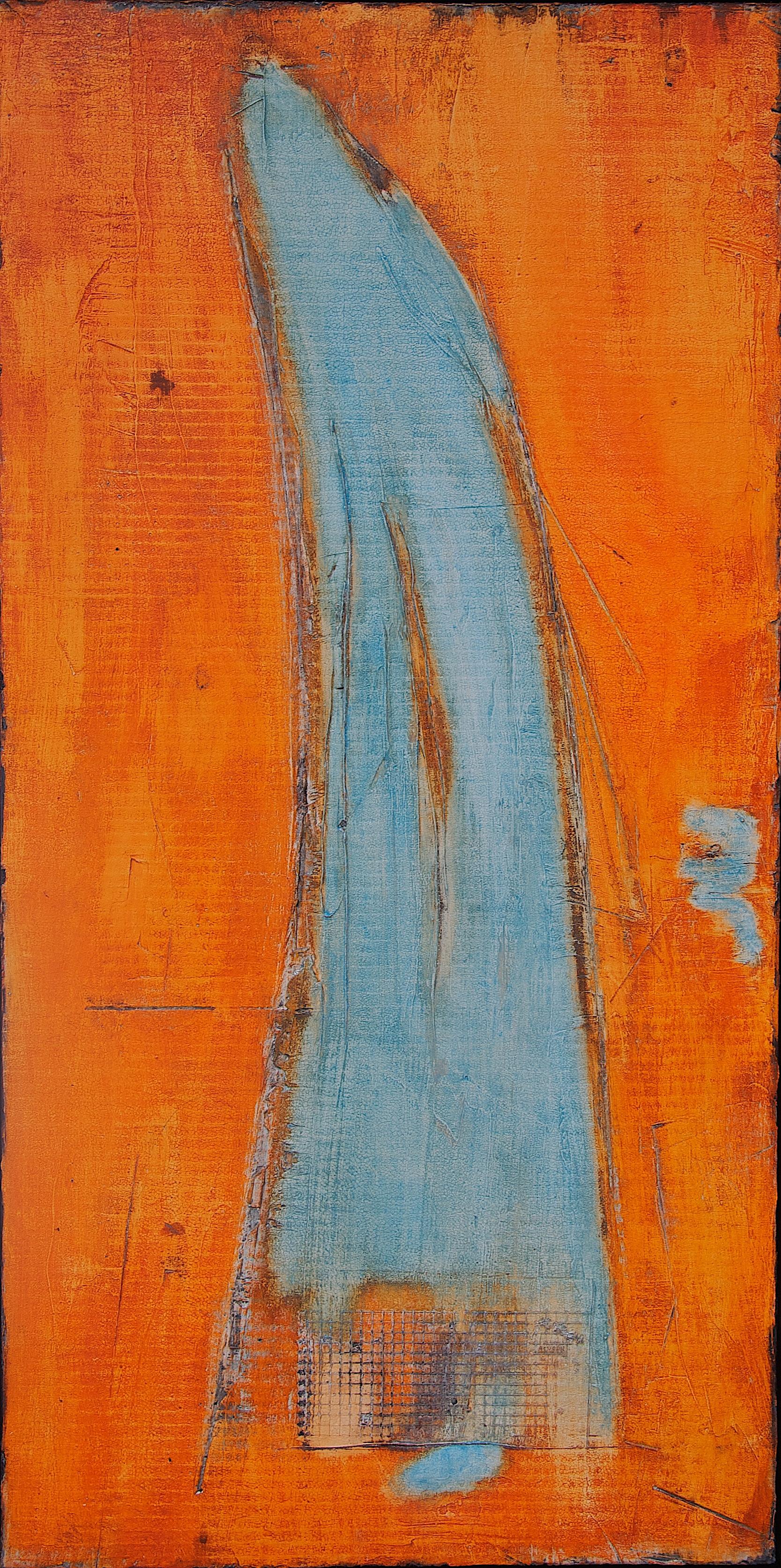 Fresko/Intonaco_ Sumpfkalk_Pigmente_Wachs_Bauplatte_60 x 120 cm